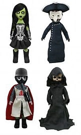 Living Dead Dolls Presents Four Horsemen Of The Apocalypse Figurines and Sets