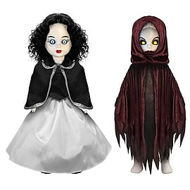 Living Dead Dolls Scary Tales Snow White and Queen Dolls Set Figurines and Sets