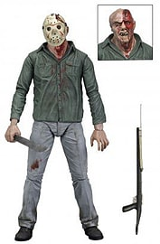 Jason Voorhees Friday 13th Battle Damaged 18cm Figure Figurines and Sets
