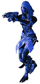 Mass Effect 3 Play Arts Kai Tali'Zorah Vas Normandy Action Figure Figurines and Sets