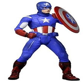 Marvel Avengers 1/4 Scale Figure Captain America Figurines and Sets
