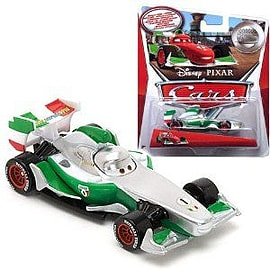 Cars 2 - Silver Racer - Francesco Bernoulli Figurines and Sets