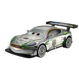 Cars 2 - Silver Racer - Nigel Gearsley Figurines and Sets