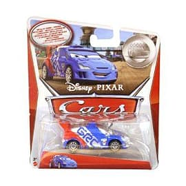 Cars 2 - Silver Racer - Raoul Caroule Figurines and Sets