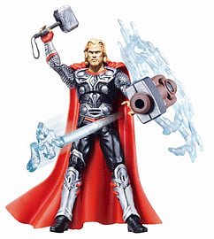 Thor the Mighty Avenger Deluxe 10cm Lightning Fury Action Figure Figurines and Sets