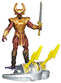 Thor the Mighty Avenger Avenger Heimdall Asgard Defender 10cm Action Figure Figurines and Sets