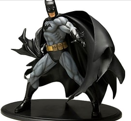 Batman Black Costume Version ARTFX Statue Figurines and Sets