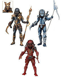 Predators 7 Inch Action Figure Series 10 Assortment (Hive Wars + Lava Planet + Nightstorm) Figurines and Sets