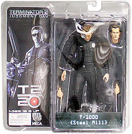 Terminator Collection Series 2 - Steel Mill T-1000 Figurines and Sets