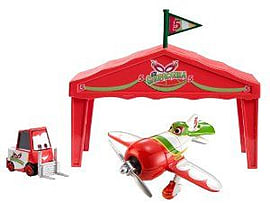 Disney Planes El Chupacabra Pit Row Giftset Figurines and Sets