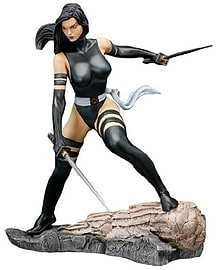 Marvel Comics Fine Art Statue Psylocke X-Force Figurines and Sets