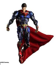 DC Comics Variant Play Arts Kai Superman Figurines and Sets