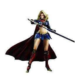 DC Comics Variant Play Arts Kai Supergirl Figurines and Sets