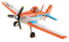Planes - Die Cast Vehicle - Dusty Crophopper Figurines and Sets