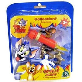 Tom And Jerry Action Figure Space Jerry Figurines and Sets