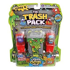 Trash Pack Series 4 Liquid Ooze Pack Figurines and Sets