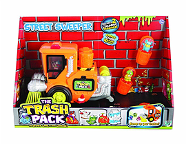 Trash Pack - Street Sweeper Figurines and Sets