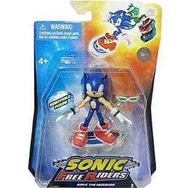 Sonic The Hedgehog 3-inch Free Riders Figure Sonic Figurines and Sets
