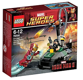 LEGO Super Heroes Iron Man vs The Mandarin Ultimate Showdown Figurines and Sets