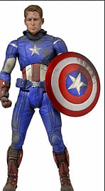 Avengers Captain America Battle Damaged 1/4 Scale Figure Figurines and Sets