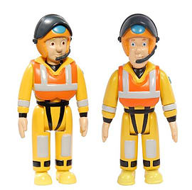 Fireman Sam Action Figures 2 Pack - Sam and Penny Figurines and Sets