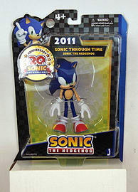 20th Anniversary Sonic the Hedgehog Sonic Through Time Sonic 2011 Figure Figurines and Sets