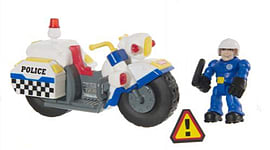 Tonka Town Police Bike Figurines and Sets
