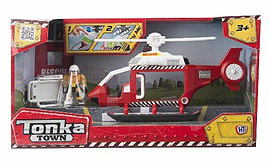 Tonka Town Rescue Helicopter Figurines and Sets