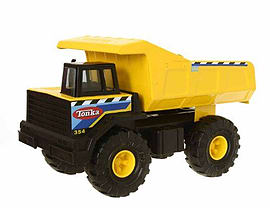 Tonka Classic Dump Truck Figurines and Sets
