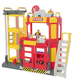 Tonka Town Fire Station Figurines and Sets