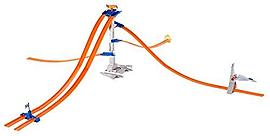 Hot Wheels Track Builder 5-Lane Tower Set Figurines and Sets