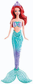 The Little Mermaid - Splashing Ariel Doll Figurines and Sets