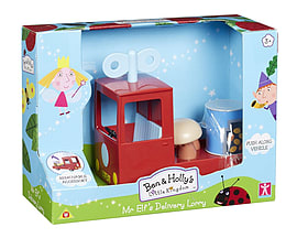 Ben and Holly Mr. Elfs Delivery Lorry Figurines and Sets