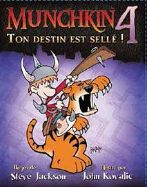 Munchkin 4: The Need For Steed Traditional Games