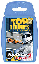 Top Trumps Top Gear Cool Cars 2 Traditional Games
