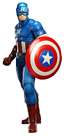 Marvel Comics Avengers Now Captain America Artfx Statue Figurines and Sets
