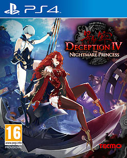 Deception IV: The Nightmare Princess PlayStation 4