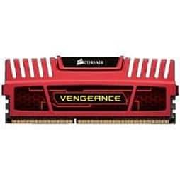 Corsair Vengeance 16GB (2 x 8GB) Memory Kit PC3-15000 1866MHz DDR3 DIMM (Red) PC