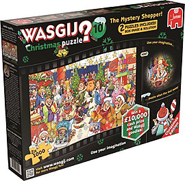 Wasgij Christmas 10 Mystery Shopper Traditional Games
