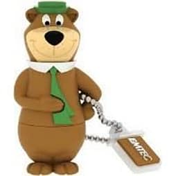 Emtec Yogi Bear and Boo Boo USB 2.0 (8GB) Flash Drive (Yogi Bear) PC