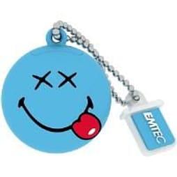Emtec Smiley USB 2.0 (8GB) Flash Drive (Happy Days) PC