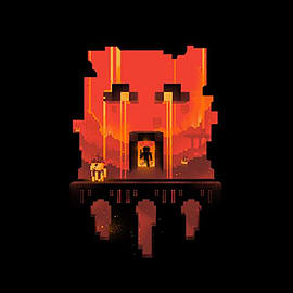 Boys Minecraft T-shirt | Mine Craft Tshirt | Official | GLIMPSE | Youth | 7-8 | BLACK Clothing