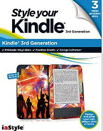 Style Your Kindle - Kindle 3rd Generation Tablet