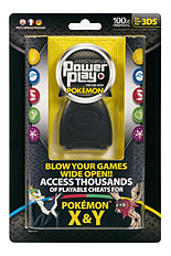 Action Replay Power Play for use with Pokemon X and Y 3DS