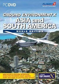 Ground Environment X: Asia and South America World Edition (for FSX) - PC PC