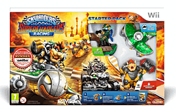 Skylanders SuperChargers Racing Starter Pack Wii Cover Art