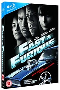 Fast and Furious Blu-ray