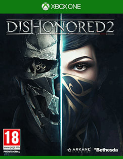 Dishonored 2 Xbox One Cover Art