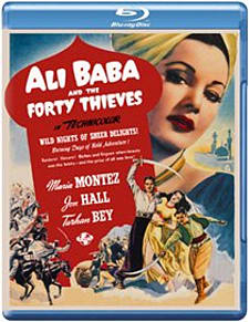 Ali Baba and the Forty Thieves Blu-ray