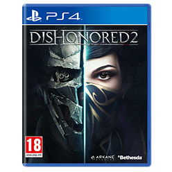 Dishonored 2 PlayStation 4 Cover Art